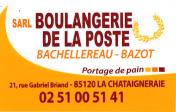 Logo Boulangerie de la poste
