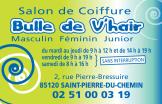 Logo Bulle de Vhair